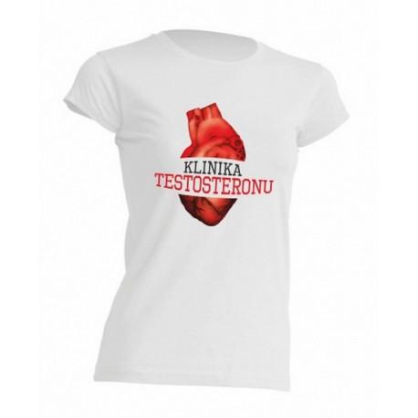Koszulka damska z logiem - rozmiar S
