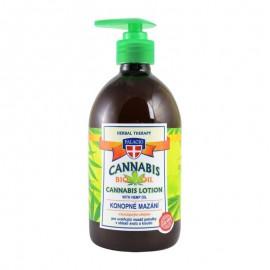 Cannabis ŻEL ZIOŁOWY do masażu 5% z pompką 500ml