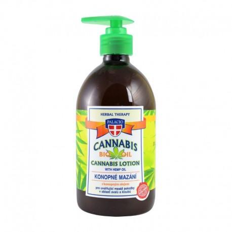 Cannabis Lotion with Hemp Oil 500ml