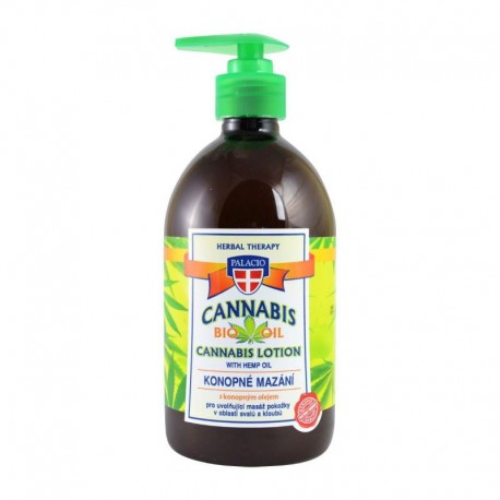 Cannabis Lotion with Hemp Oil 500ml