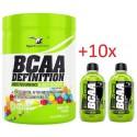BCAA Definition 465g + 10x BCAA DRINK 250ml