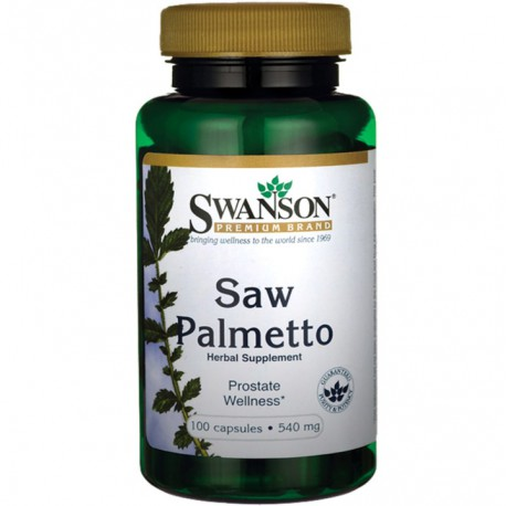 Swanson Saw Palmetto 540mg 100 kaps