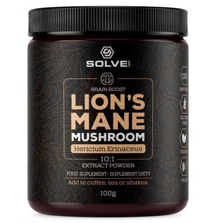 Lion's Mane Soplówka Jeżowata 10:1 Mushroom Powder 100g