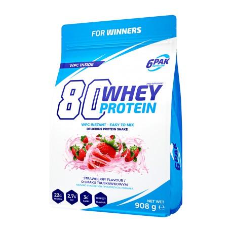 80 Whey Protein 908g