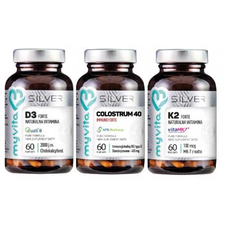 Na Odporność - Kolostrum + Witamina D3 Forte + Witamina K2